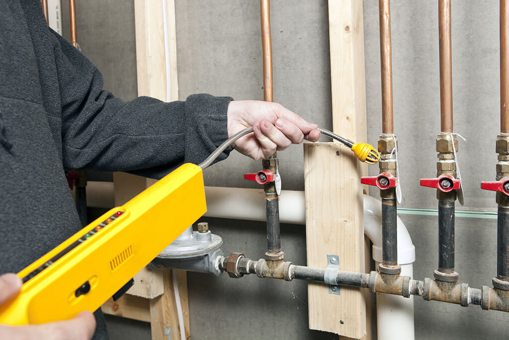 Gas line services by allen plumbers
